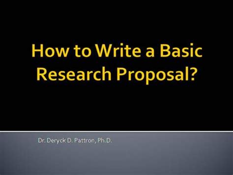 Sample Research Proposal - 14 Examples in PDF, Word